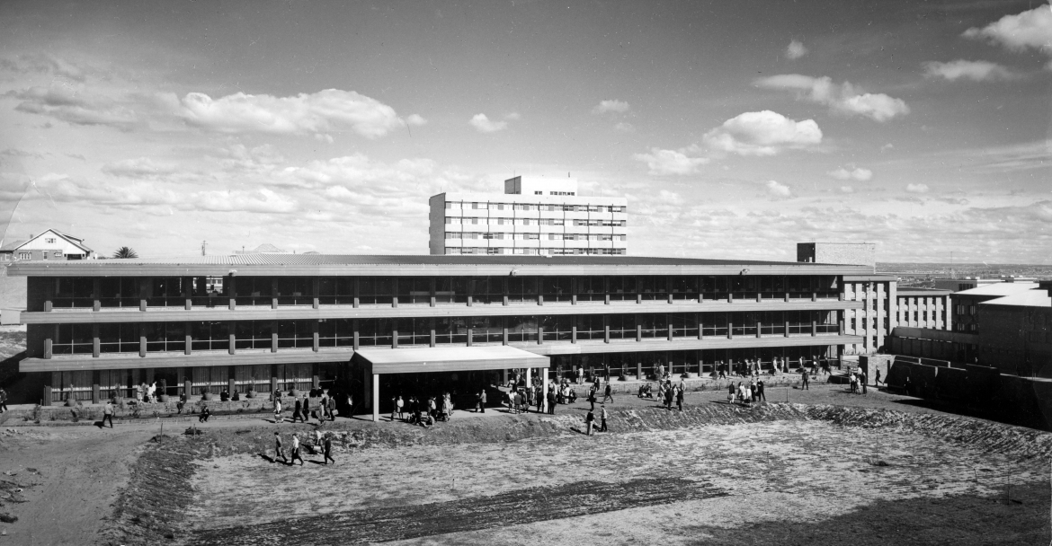 Library Building in 1966
