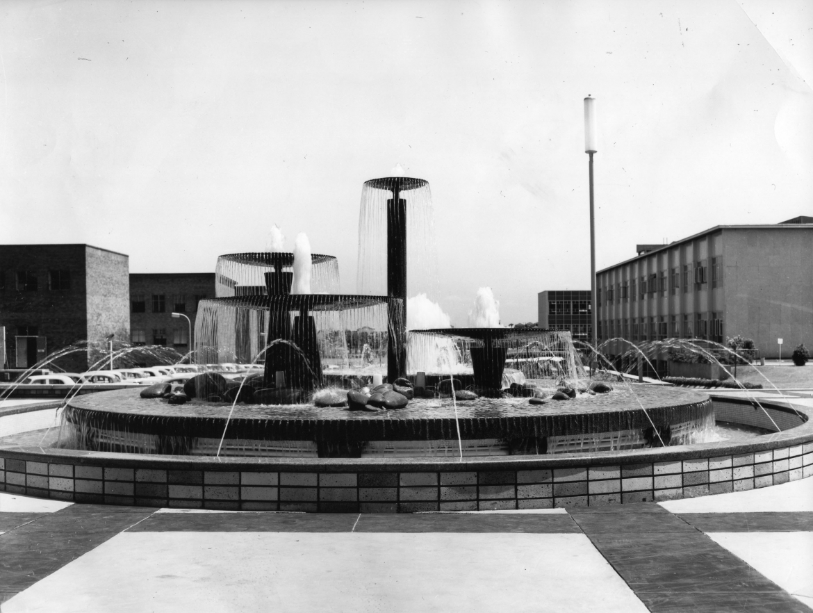 Engineering Fountain, 1960s.  CN945-9-2