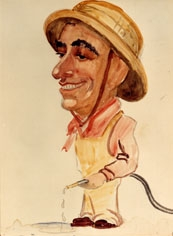 Unknown caricature 1