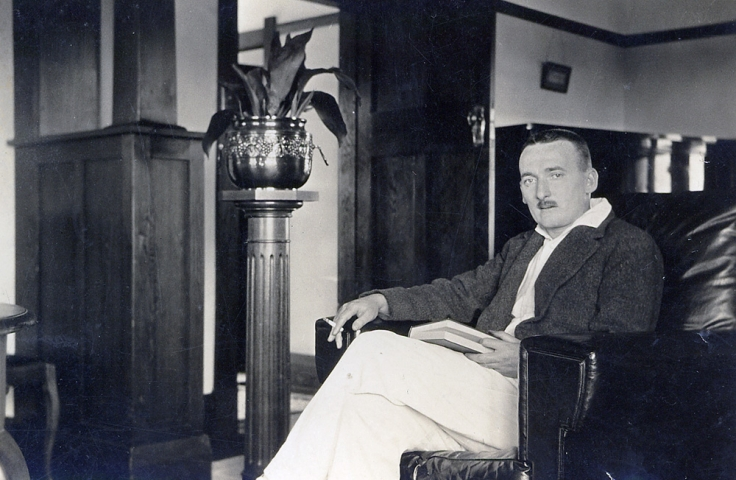 Sir John Sydney James Clancy_At Home, 1923