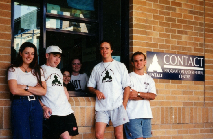Contact, c. 1995. (University Union, UNSW Archives 07/184/390)
