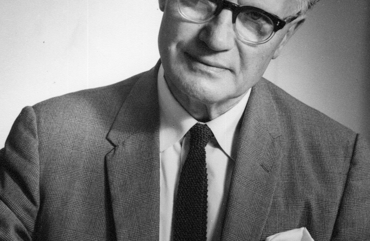 Professor Frederick Towndrow, 1950s. (UNSW Archives CN449)